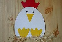 Kindergarten Crafts / All kinds of adorable and easy crafts for kindergarten!