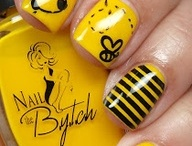 Nail Art to Try / I'm always painting my nails, so I pin tons of nail art ideas to try when I get chance.