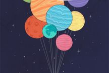 space kind <3 / dreams of floating aimlessly in the universe <3