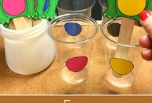 Colour tasks- sorting- fine motor