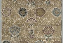patterns,prints, textiles - 1300-1700