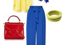 Синие штаны, жилет
