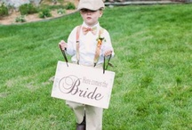 "Ring Bearer / Nothing is more adorable than these cute and creative ways to help the bride say ""I do"".  / by BARI JAY"