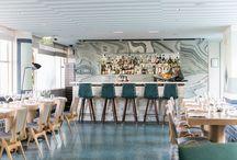 Chic Restaurants & Bars / Restaurant and Bar Design Inspiration