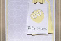 inspirations cartes bébés / enfants