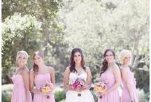 Wedding Inspirations: Bride/Bridesmaids