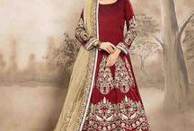 2636 Aanaya 12000 Tafeta Silk Heavy Salwar Suit