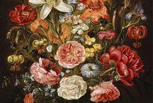 flores en bodegon