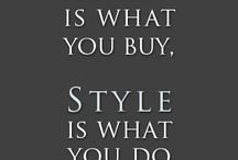 Fashion Quotes / by Nelda's Vintage