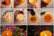 bougie orange