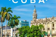 Cuba travel dreaming / Plans and ideas for a trip to Cuba. Fingers crossed it happens this year!