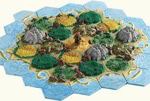 Hexagonal terrains