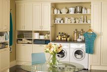 Laundry Rooms / by Kristen Fink Olsen