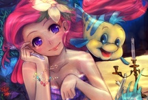 Cute Disney Mermaid Cartoons