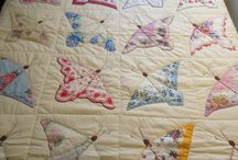 Hankie Quilts / Hankie & Handkerchief Quilt Ideas. / by Victoriana Quilt Designs
