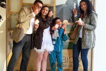 Amigos de BICO de xeado