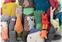 All the handmade creatures