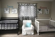 Toddler & baby shared room
