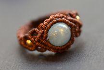 マクラメ指輪