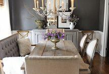 Home interior: dining room
