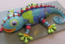 Lizard cake ideas