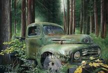 Old Cars & Barns