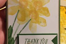Stampin' Up! cards / A range of cards using stampin up products