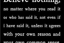 Quotes / by Peggy Murphy