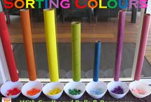 Kids colors / by Heather @ Work from Home with Kids