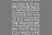 Paroles ou proverbe