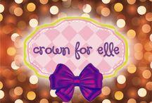 CROWN for ELLE / handmade accesories & wardrobes for kids & teens