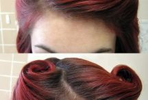 tutorial hair vintage