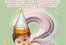 Kids Invitations / kids children birthday invitations
