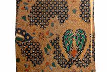 Batik Sogan Cap Colet / koleksi kain batik sogan cap colet