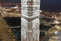 Torre Diagonal Zero Zero / Instalación de mamparas P450 y P600s de ARLEX para la distribución interior de la nueva sede de Telefónica en Barcelona, la Torre Diagonal Zero Zero, obra del Estudio Massip-Bosch Arquitectes.