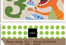 KatyJane Designs - Kids Party Invitations, cards, decor and accessories / Graphic Designs and new products for Children by KatyJane Designs for which I am a partner and the designer. http://www.katyjane.com.au