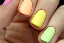 Manicures // Neons