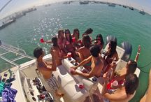 Yacht party Hurraystay