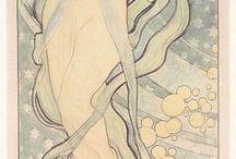 A: Alphonse Mucha