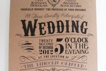Wedding - Invitation Idea's