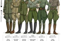 Imperial Japanese Uniforms and such / As the title says
