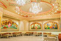 Virasat SheeshMahal / Virasat Sheesh Mahal famous heritage restaurant where you get royal by live music, folk dance, Rajasthani thali, rajasthan tourism, pre marriage shoot