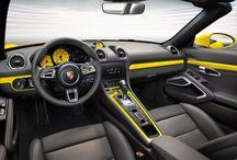 Porsche 718 Boxster S Amarillo Racing / El Porsche 718 Boxster S Amarillo Racing continúa la legendaria historia del 718.