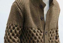 crochet clothes. men.