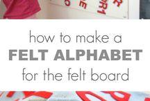 DIY Felt Boards