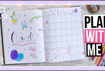 Bullet Journal & Plan With Me Ideas