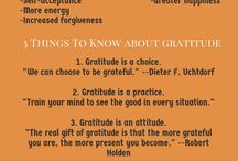 Gratefulness/Affirmations/Positivity