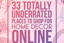 On line shopping home decor