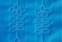 #free motion quilting designs / set your mind free and let your imagination come alive...