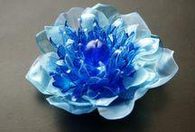 Plastic bottle / Resin Flower